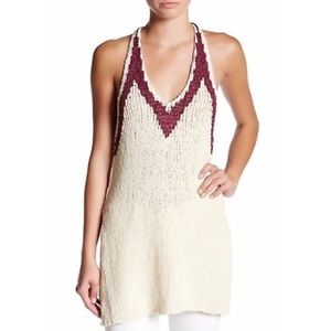 Free people hold on knit tunic sleeveless top